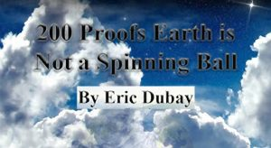 Eric Dubey only has 34 Flat Earth Proofs