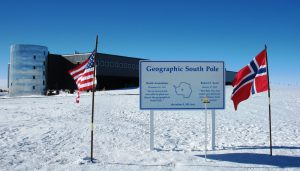 No South Pole on Flat Earth
