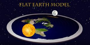 Earth and sun are same size and close